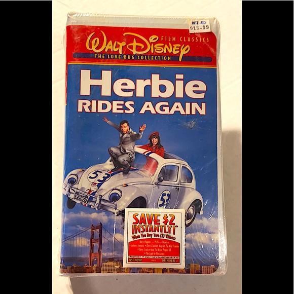 *NEW & SEALED* Herbie Rides Again (VHS)Walt Disney